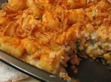 Tater Tot Casserole...my own version
