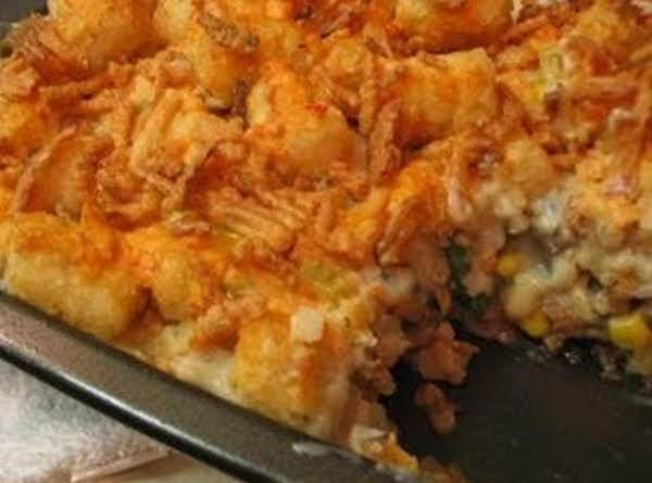 Tater Tot Casserole...my Own Version Recipe