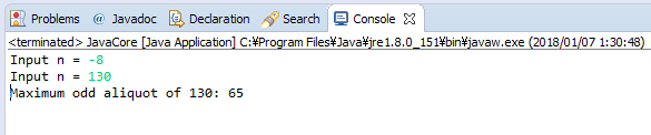 Java - Tìm ước số lẻ lớn nhất của số nguyên dương