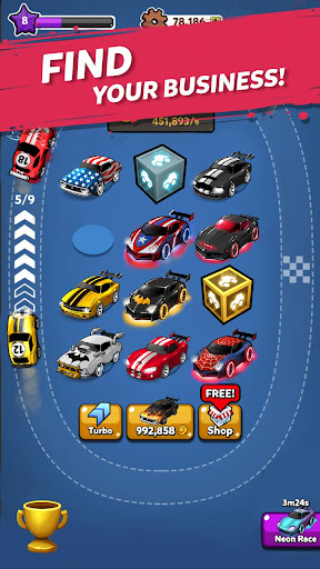 Merge Battle Car: Best Idle Clicker Tycoon game 2.0.0 screenshots 3