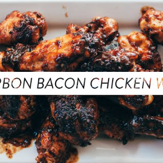 Bourbon Bacon Chicken Wings Recipe
