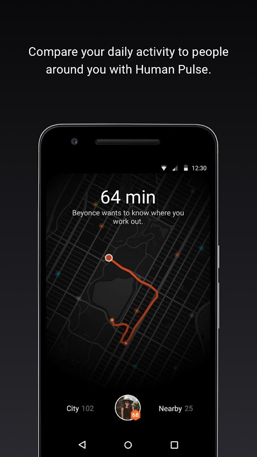 Human - Activity tracker- screenshot