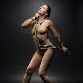 Cross by Wang David - Nudes & Boudoir Artistic Nude