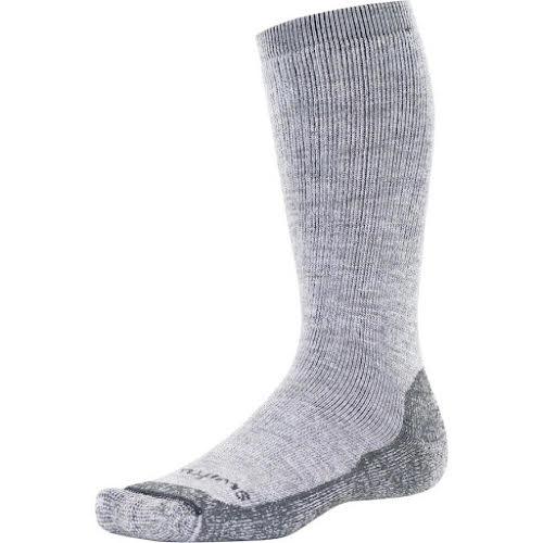 Swiftwick Pursuit Eight Heavy Cushion Hike Sock: Heather Gray