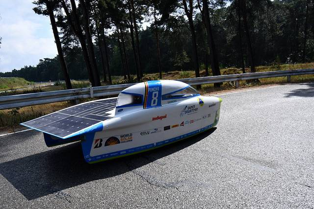 How a Lufft sensor helps to improve a solar car