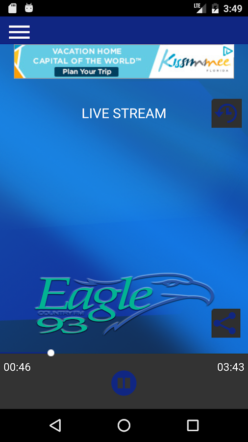 Eagle 93 Country- screenshot