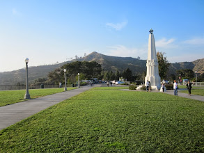 Photo: View north toward Mt. Hollywood from the observatory front lawn