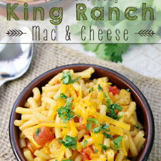 Quick and Easy King Ranch Mac & Cheese
