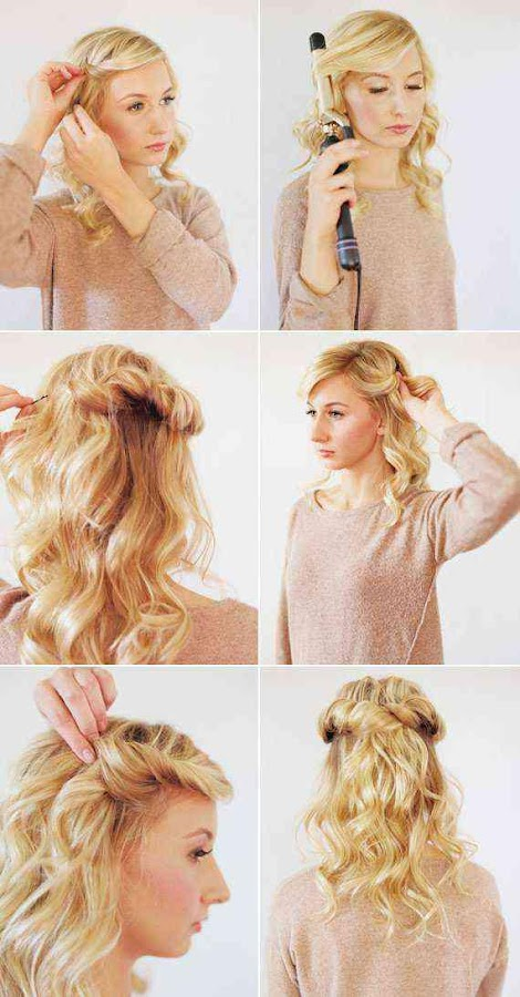 Astonishing Easy Hairstyle Step By Step Android Apps On Google Play Hairstyle Inspiration Daily Dogsangcom