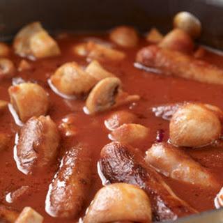 Sausage Casserole and Mash