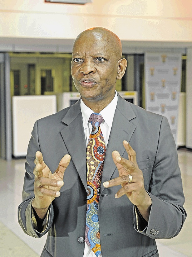 Dr Mzukisi Grootboom, chairman of the South African Medical Association, says doctors should save lives. File picture:RUSSELL ROBERTS