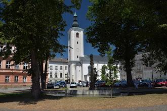 Photo: Kościół św. Wacława przy pałacu.