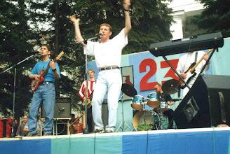 Photo: Уличное выступление в 2002 году