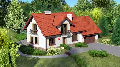 projekt Dom przy Modrzewiowej 14