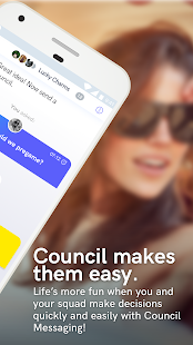 Council Messaging - náhled