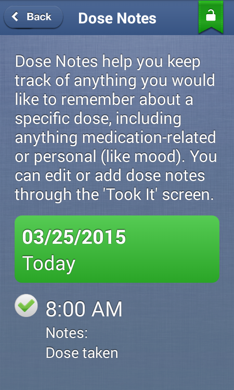 Every Dose, Every Day- screenshot