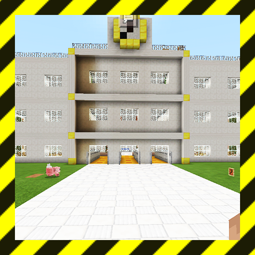 Academy High School. Map for MCPE