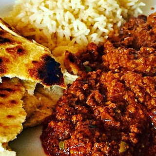 Keema (mince Beef Curry).