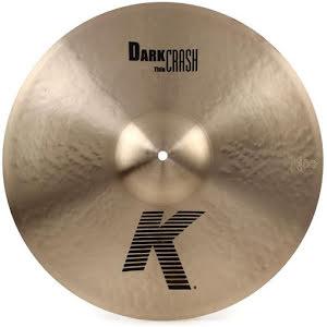 "20"" K Zildjian Dark Thin Crash"