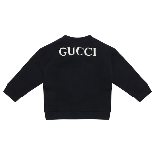 Thumbnail images of Gucci Baby Boy Leopard Sweatop