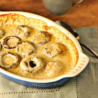Creamy Mushrooms.
