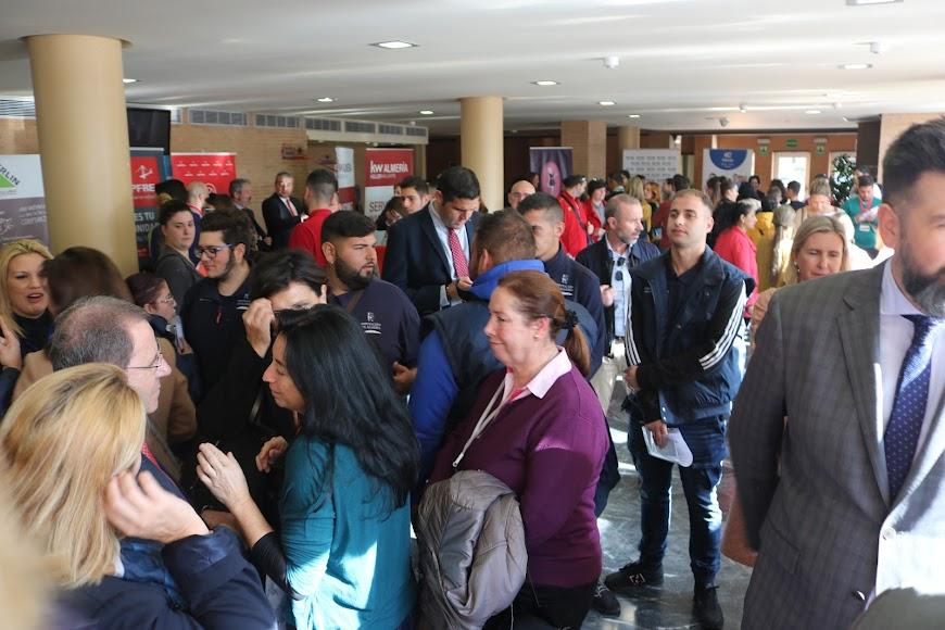 Se celebra la octava edición de la Feria de Empleo y Emprendimiento.