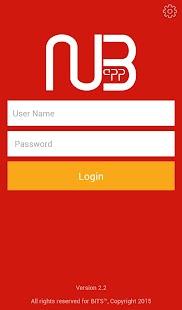 NUB.app - náhled