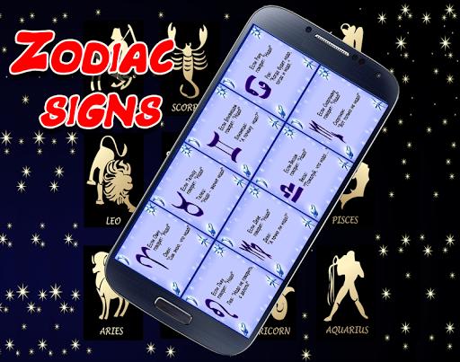 Zodiac signs screenshot 2