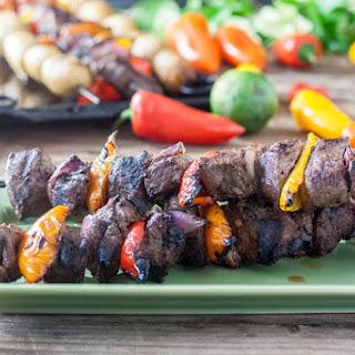 Venison Steak Kabobs Recipe