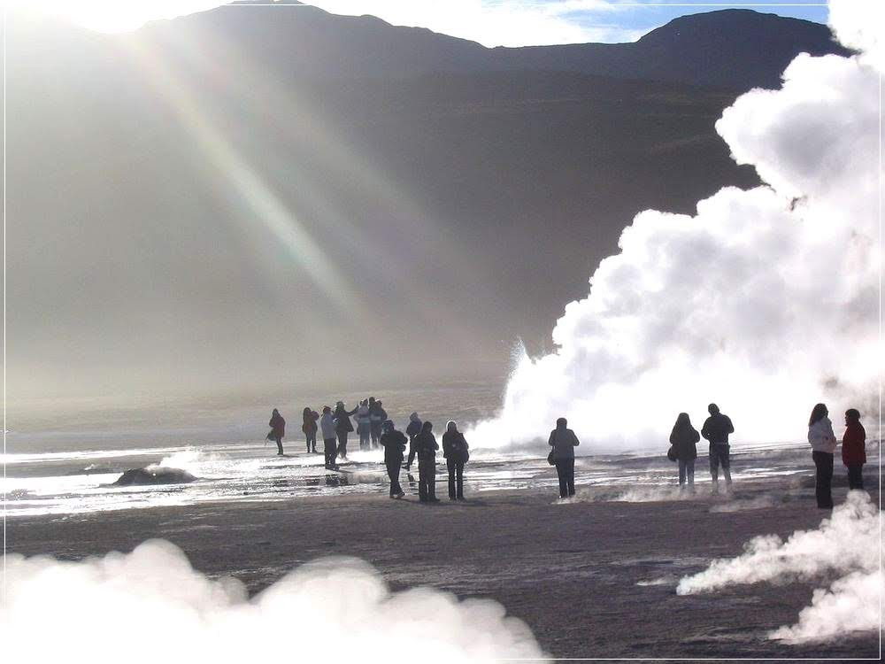 El Tatio, o maior gêiser do hemisfério sul