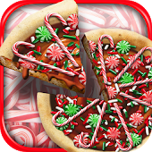 Christmas Candy Pizza Maker Kids Food Cooking Game