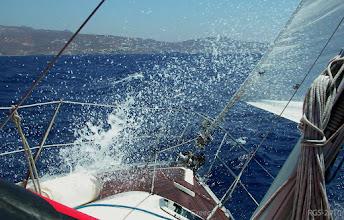 Photo: Segelturn-Griechenland-2010, fahrt nach Mykonos