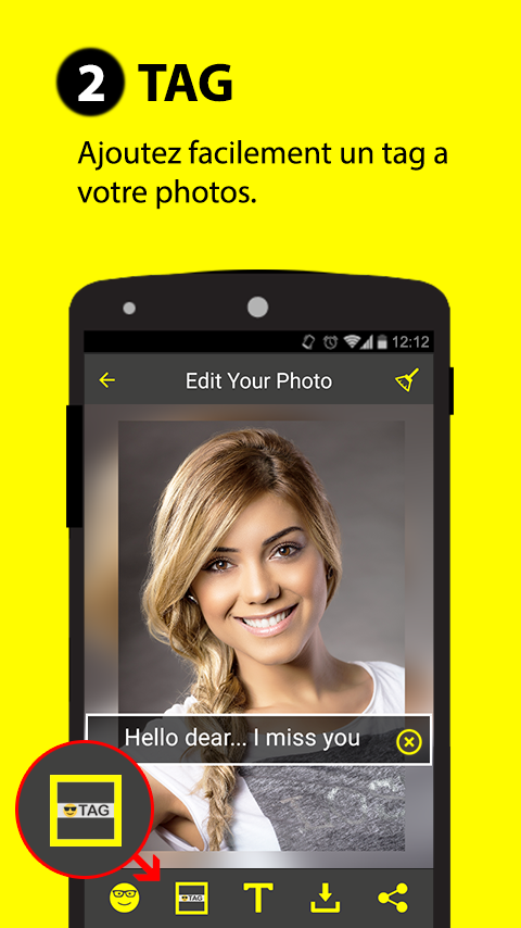 Sticker & Filtre for Snapchat – Capture d'écran