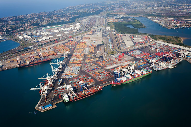Aerial view of Durban harbour. Picture: ISTOCK