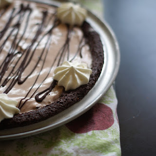 Chocolate Mint Ice Cream Pie