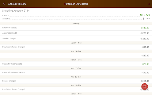 Patterson State Bank Mobile Screenshot 7