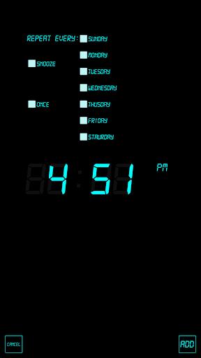 j5 Alarm Clock screenshot 3