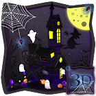 3D Spooky Houseハロウィンテーマ icon