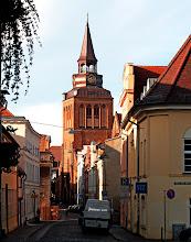 Photo: Pfarrkirche und alte Gassen am Marktplatz in Güstrow  Cultural heritage monuments