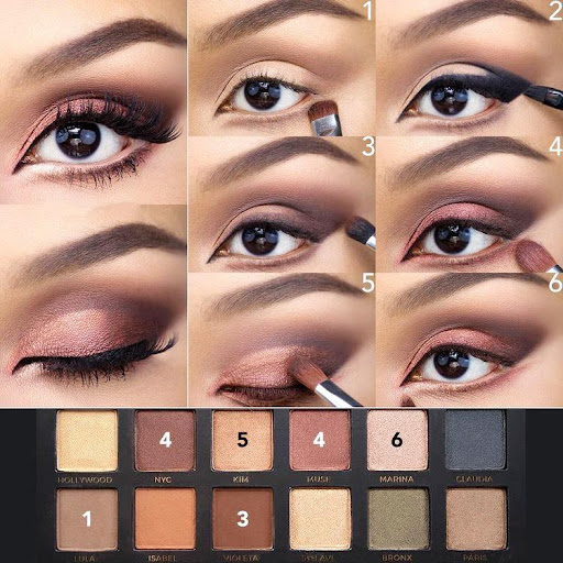 Step by step learn eye makeup Apk 2
