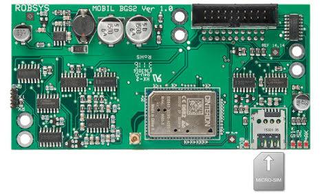 GSM modul MOBIL BGS2