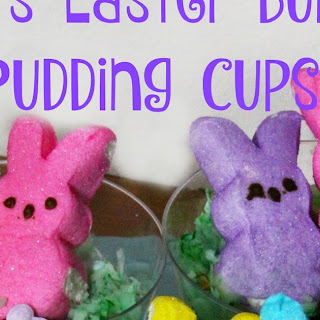 Peeps Easter Bunny Pudding Cups