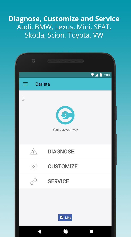 Carista OBD2 Screenshot 0