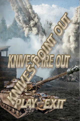 Knives Fire Out 1.0.0 screenshots 1