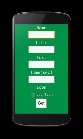 android Fake Notifer Screenshot 1
