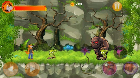 Jack The Wolf : Free 2D game - náhled