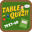 Table Quiz- Learn Tables icon