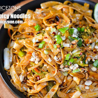 One Pot Spicy Noodles.
