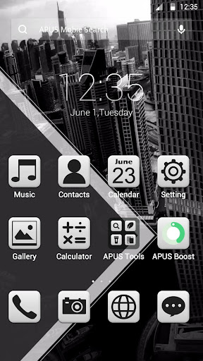 City theme for APUS
