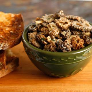 Morel Mushroom Toasts